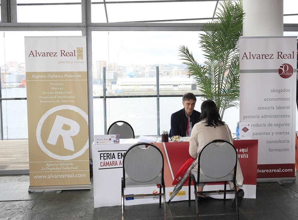 Alvarez Real participa en la V Feria de Empleo de la Cámara de Comercio