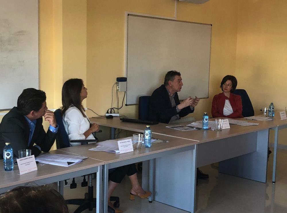 Nuestra directora general, Mónica Álvarez participó en la mesa redonda sobre Empleo en Igualdad.