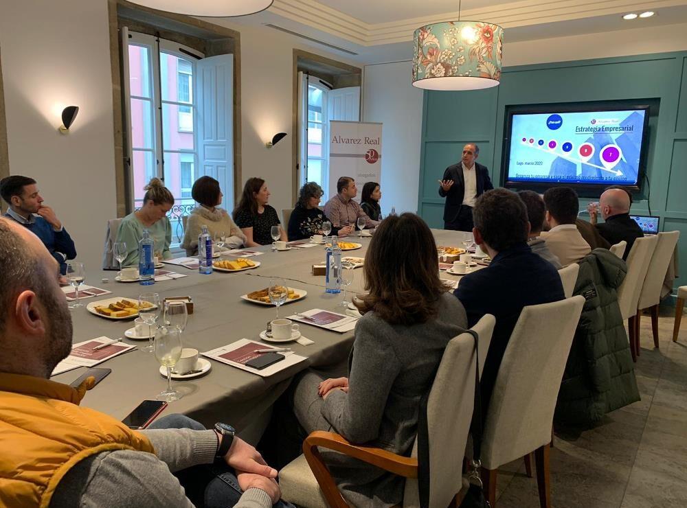 Desayuna con Alvarez Real: Cómo sacar el máximo partido a tu empresa