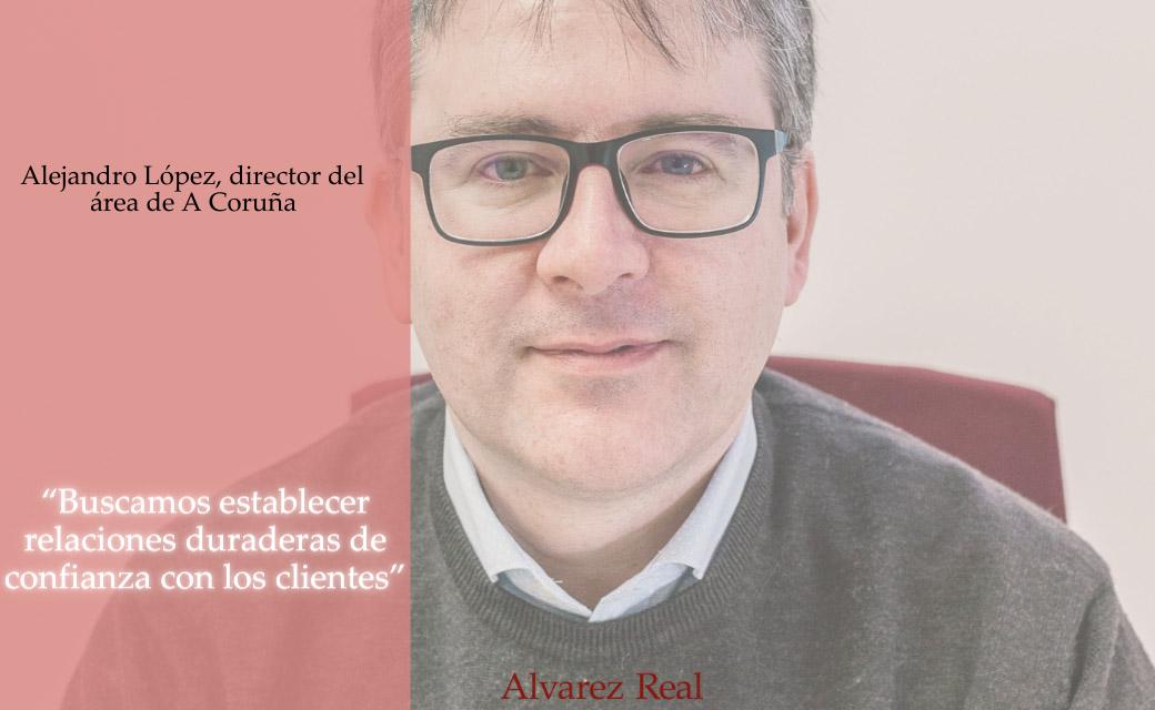 Alejandro López, director de la Delegación de A Coruña
