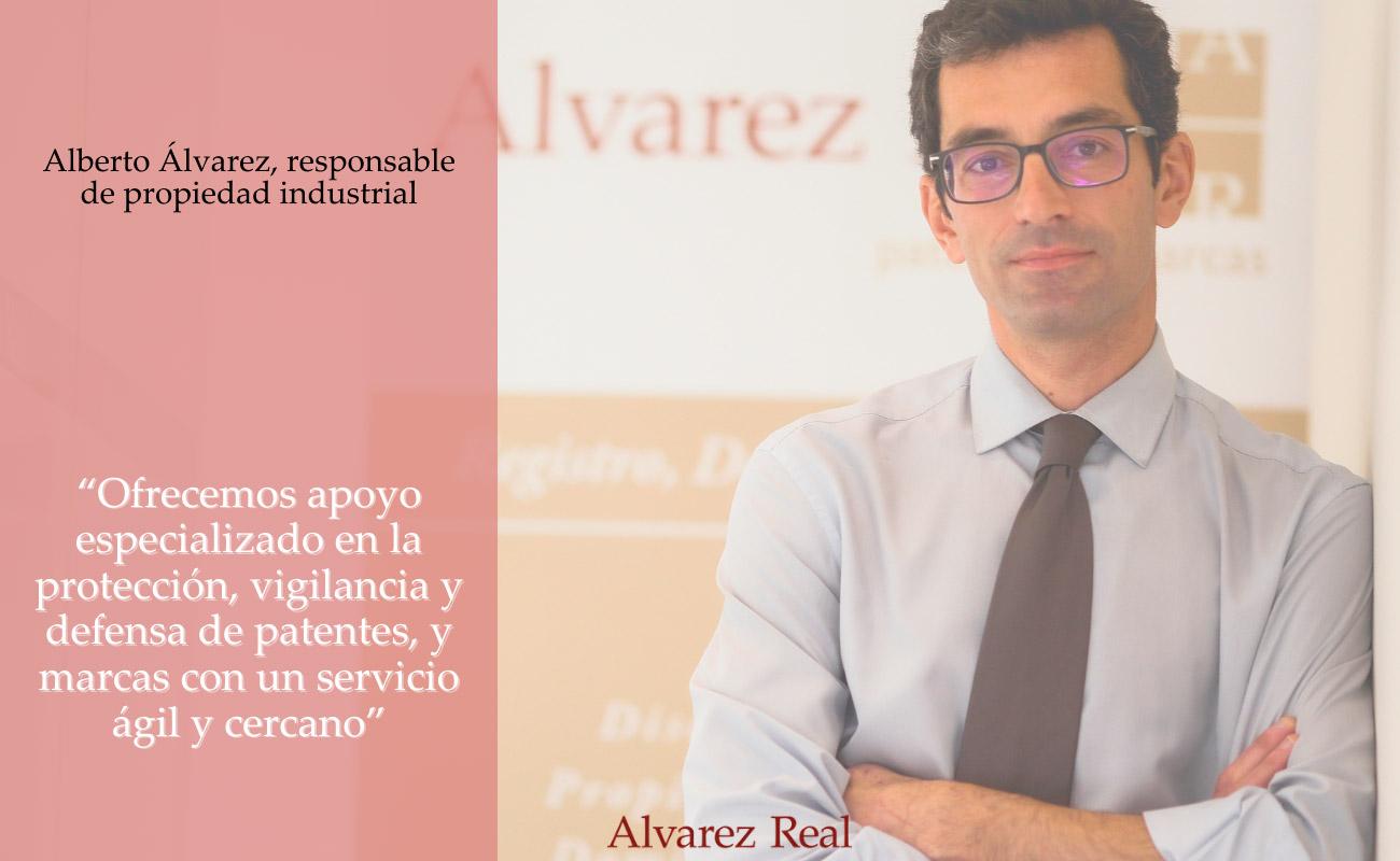 Alberto Álvarez, responsable de Propiedad Industrial