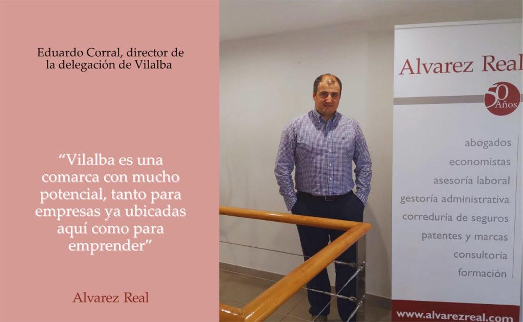 Eduardo Corral, director de la delegación de Vilalba